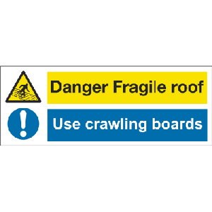 400mm x 150mm Fragile Roof/Use Crawling Boards Image