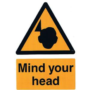 200mm x 300mm Mind Your Head Image